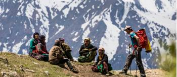 Chatting with western Nepalese locals | Lachlan Gardiner