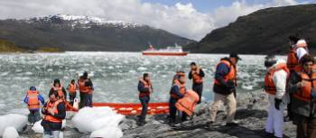 Enjoy time ashore to further explore the Chilean fjords