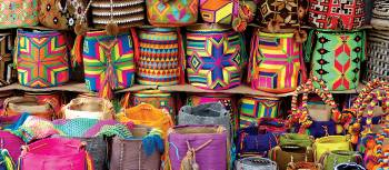 Souvenir stall in Colombia | Pat Rochon