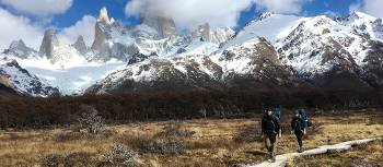 Backcountry trekking around Fitz Roy & Cerro Torre in Los Glaciares National Park | Sue Badyari