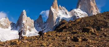 Trekking barren landscapes in Patagonia | Richard I'Anson
