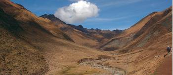 Walking through spectacular remote valleys on our Inca Rivers Trek | Lauren Boler