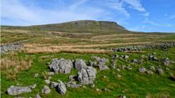 Pen-y-Ghent and limestone clints